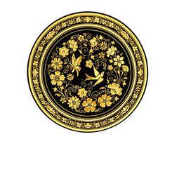 21154 renaissance decoration plate