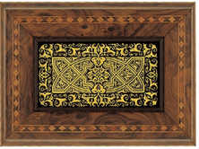 42040 jewelry box with geometric design. ( Available as music box )