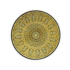 21116 geometric decoration plate