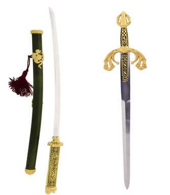 43011Katana 43010 Tizona. Mini sword replica collection