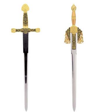 43020 Excalibur 43022 Boabdil. Mini sword replica collection
