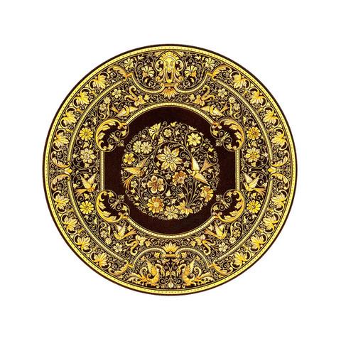 21239 renaissance decoration plate with artisan finish