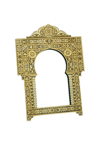 41374 classic photo frame and mirror