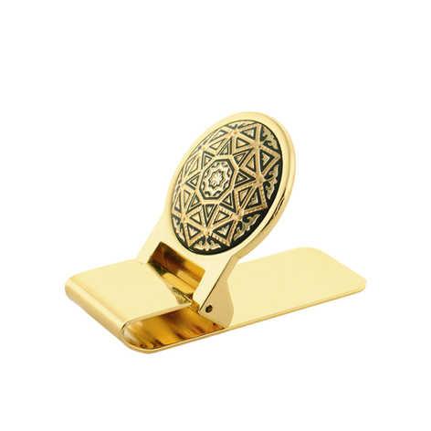 41556 money clip geometric
