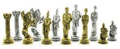Greek chess pieces set