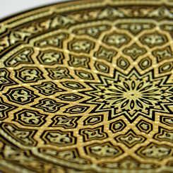 21119 geometric decoration plate