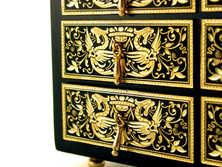 41127 Walnut wood jewelry box