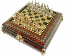 66478 Mini chess set with Cervantes pieces