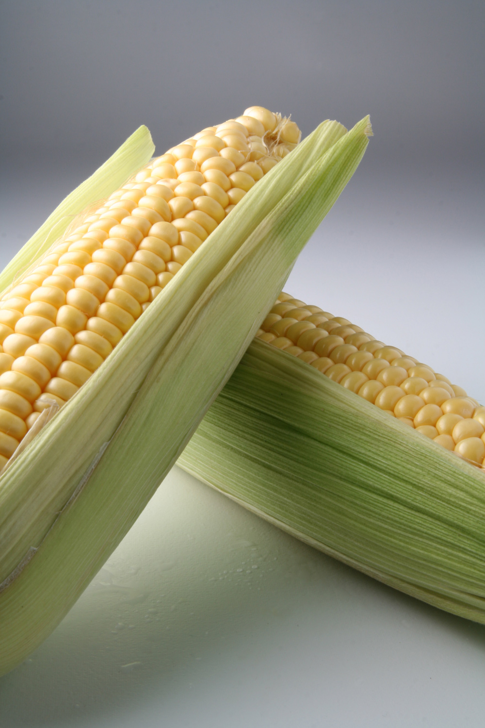 You see a person, I see corn