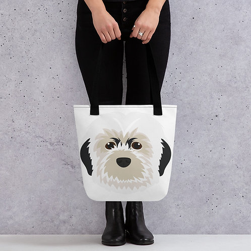 Pebbles the Pup Tote Bag