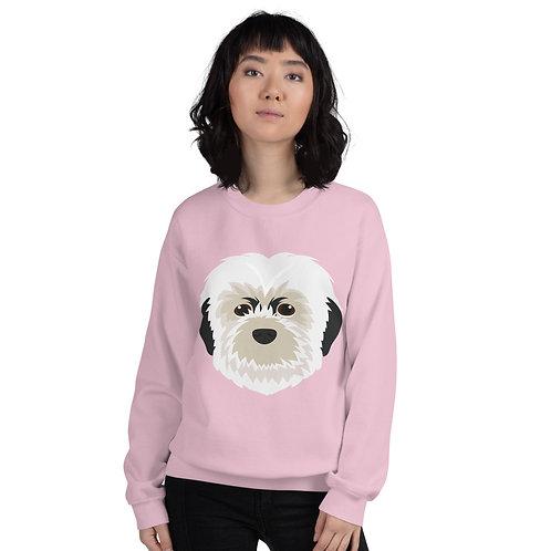 Pebbles the Pup Print Unisex Sweatshirt