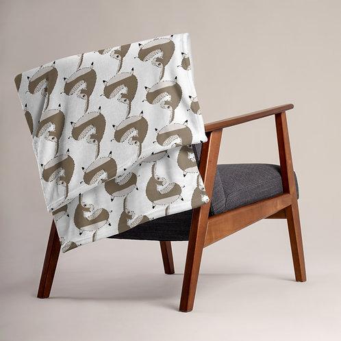 Oberon Donkey-Bean Throw Blanket