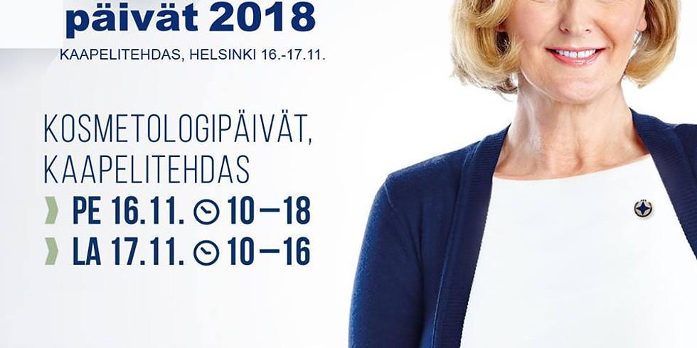 Renew Suomi Kosmetologipäivillä 2018 (Me24)