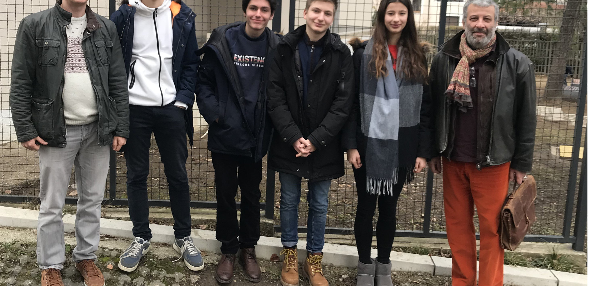 Intervention a l'école française de Belgrade