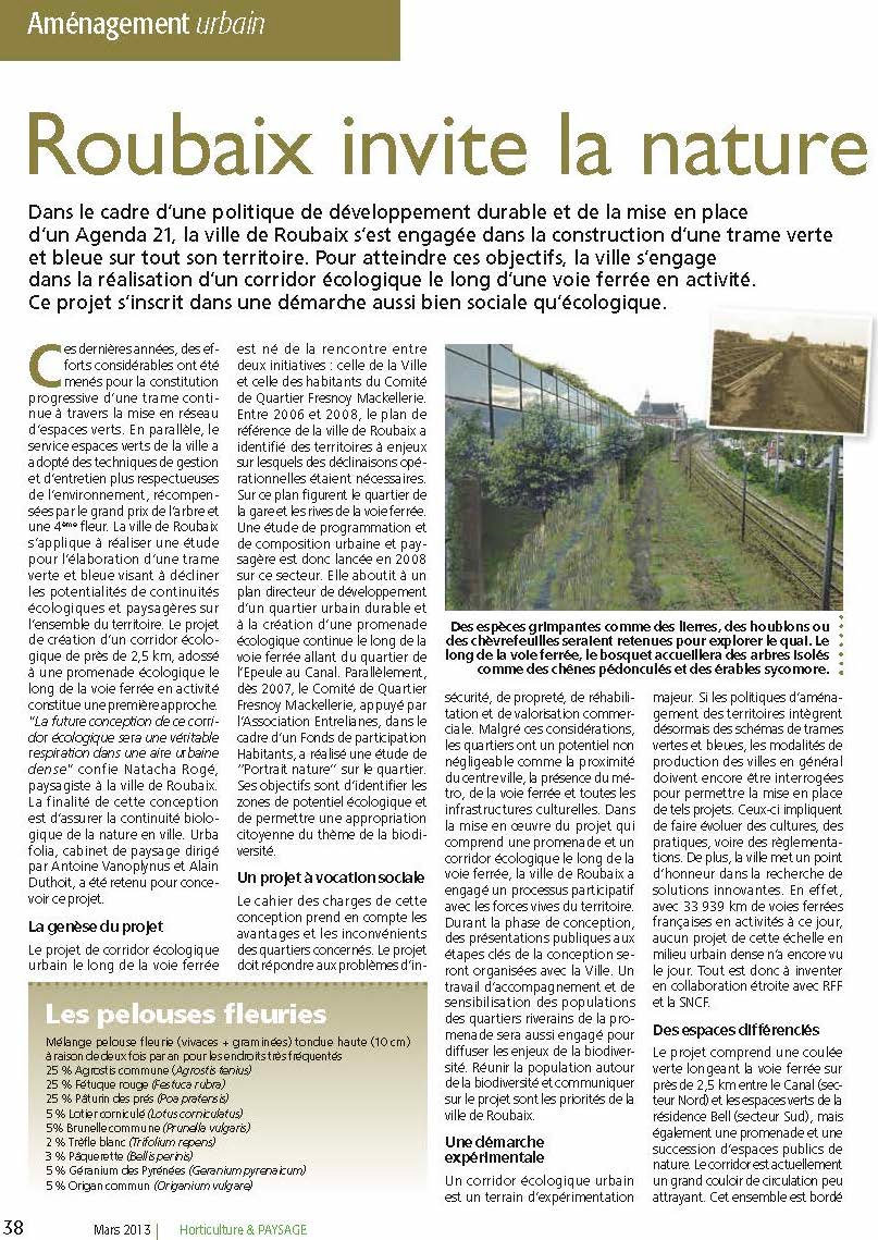 2013 mars - HORTICULTURE & PAYSAGE - ROU