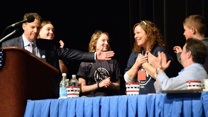 Dr Matt Klein wins DFL endorsement at Minnesota Senate District 52 Convention