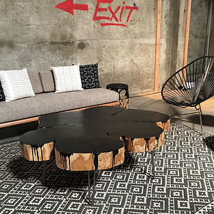 living edge furniture rental. Onyx Live Edge Low Table Living Furniture Rental