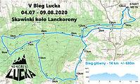Mapa - V Bieg Lucka 14 km - wyzwanie.jpg