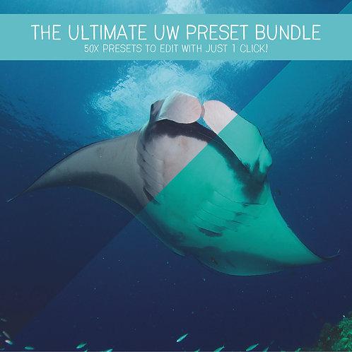 The Ultimate UW Preset Bundle (50 Lightroom Presets)