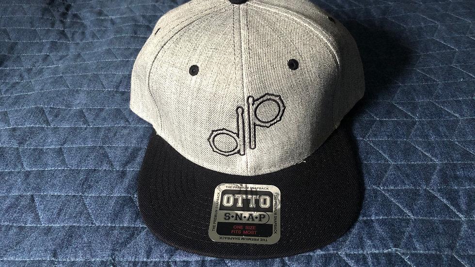 """DP"" Logo Grey Wool Hat - Prototype"