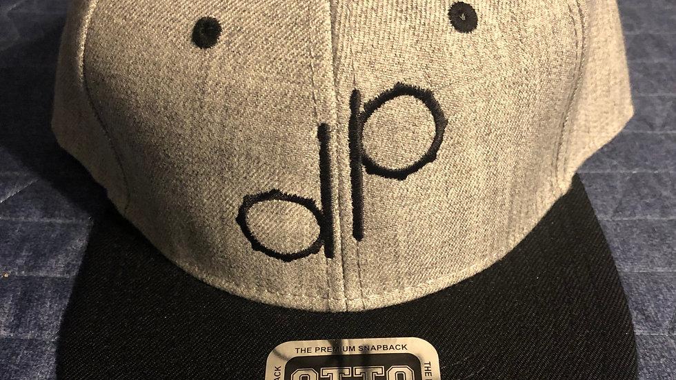 """""""DP"""" Logo Grey Wool Hat"""