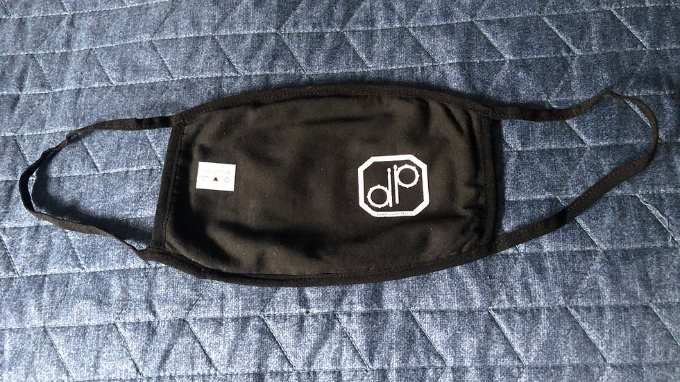 """DP"" Drum Badge Face Mask"