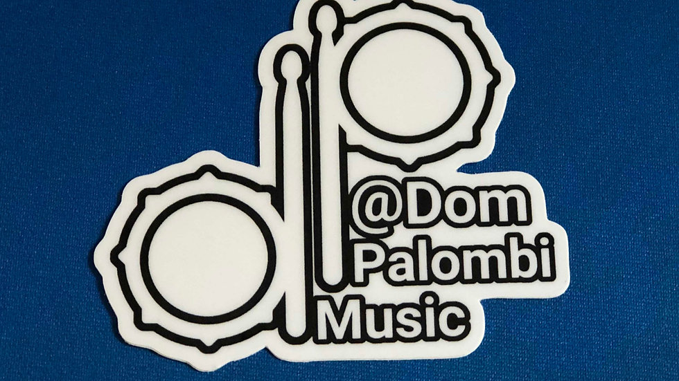 "3""x3"" ""DP"" Sticker Logo"