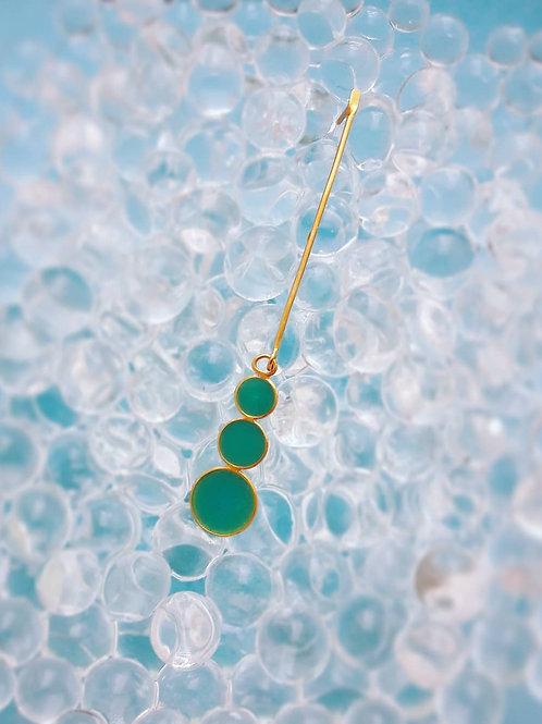 Aretes Bubbles bicolor