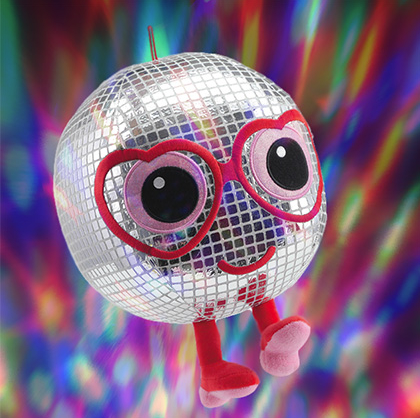 Disco Ball Plush