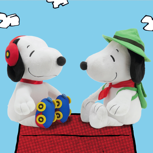 Oversized Snoopy Push