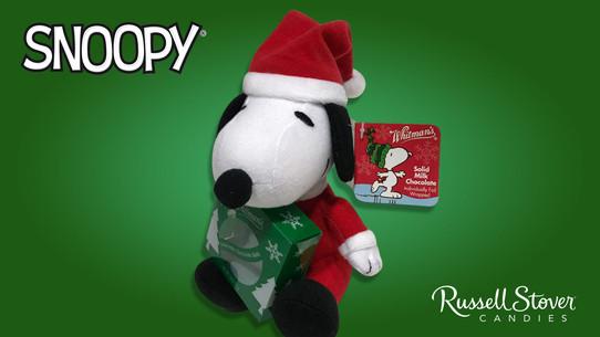 Snoopy Plush with Chocolates