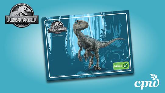 Jurassic World Place Mat
