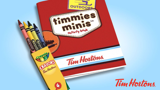 Timmies Minis Activity Pack