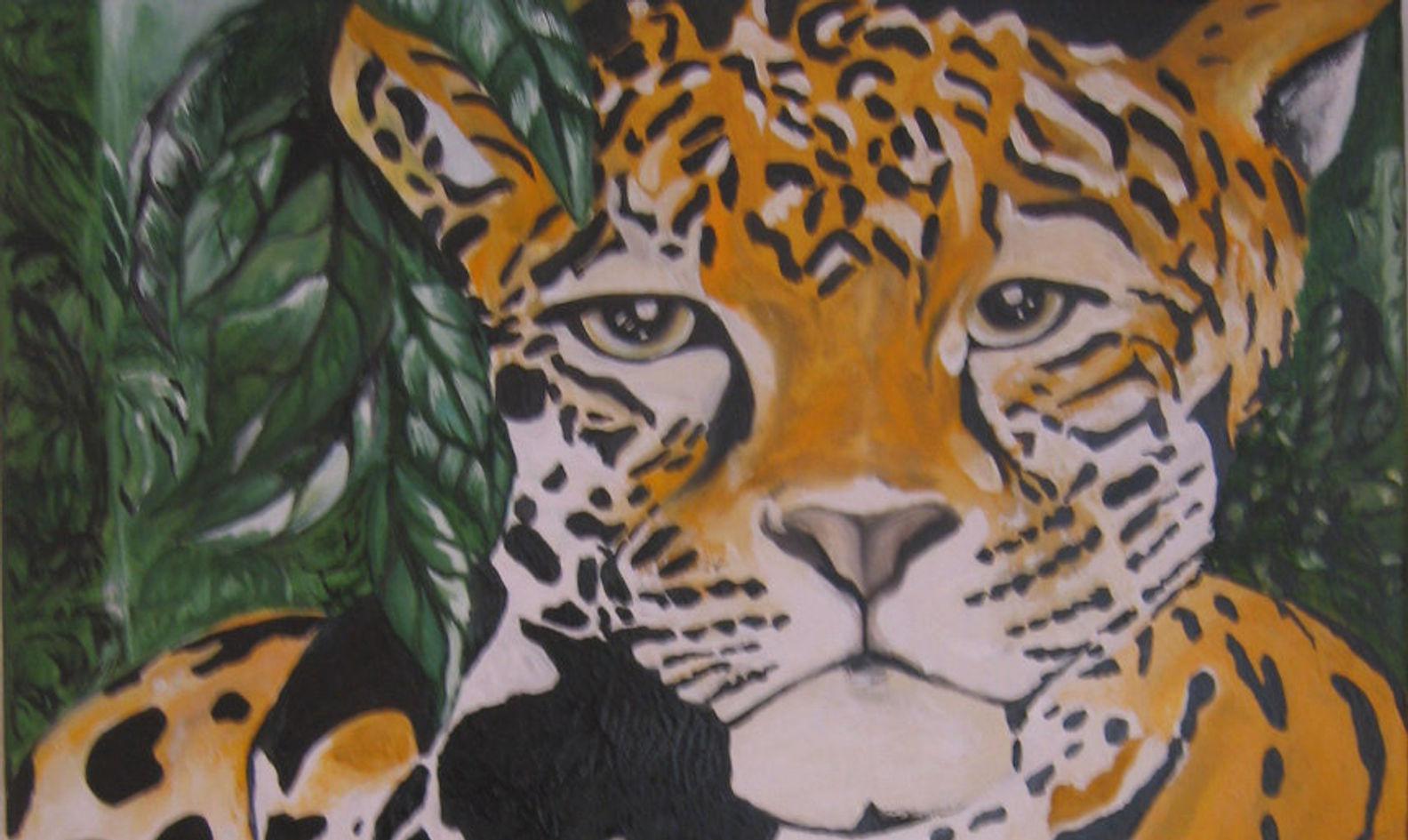Tiger. Oil on Canvas. France.