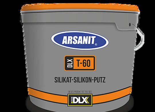 PUTZE: Arsanit T60 – Silikon-Silikat-Putz