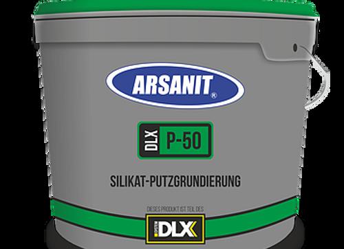 GRUNDIERUNG: Arsanit P50 – Silikat-Putzgrundierung