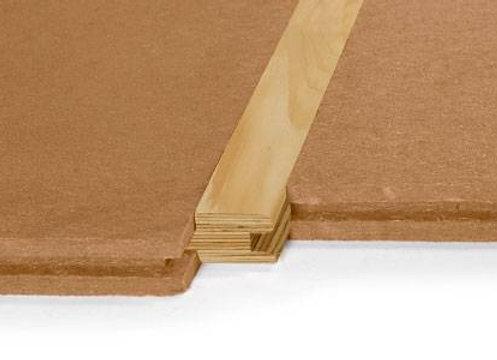 STEICOfloor Holzfaserplatten