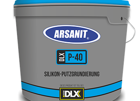 GRUNDIERUNG: ARSANIT P40 – Silikon-Putzgrundierung