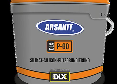 GRUNDIERUNG: Arsanit P-60 Silikat-Silikon-Putzgrundierung