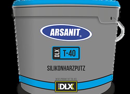 PUTZE: Arsanit T40 – Silikonharzputz