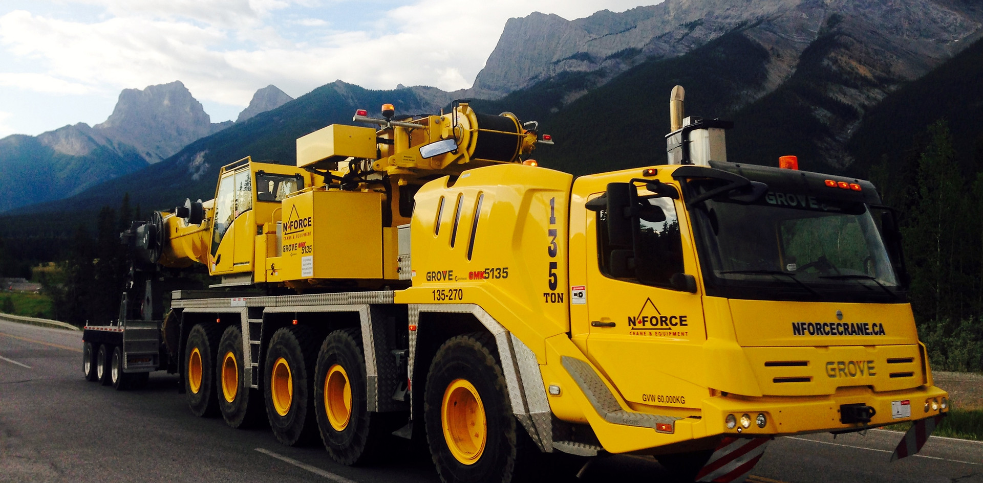135 ton in Canmore