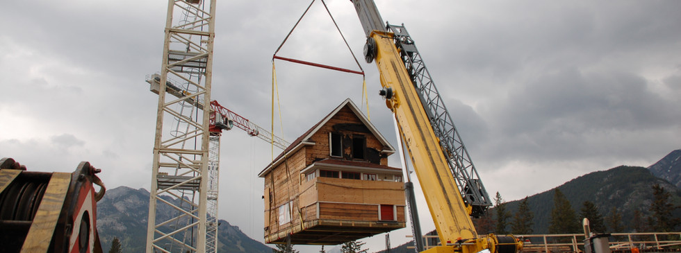 Small home move in Banff