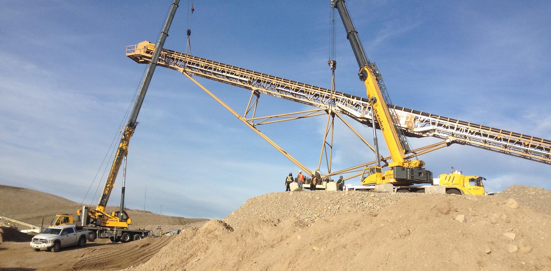 Multi crane work
