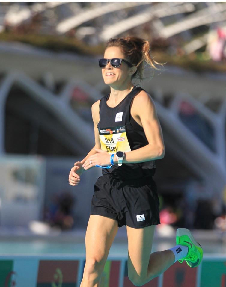 Eleanor Davis, NHS doctor and elite runner.