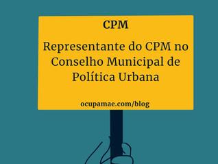 Representante do CPM no CMPU
