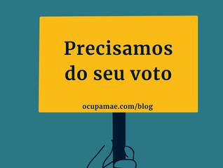 Precisamos do seu voto