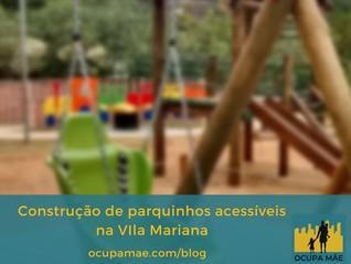 Parquinho acessível na Vila Mariana