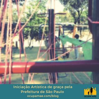 Iniciação Artística de graça pela Prefeitura de São Paulo