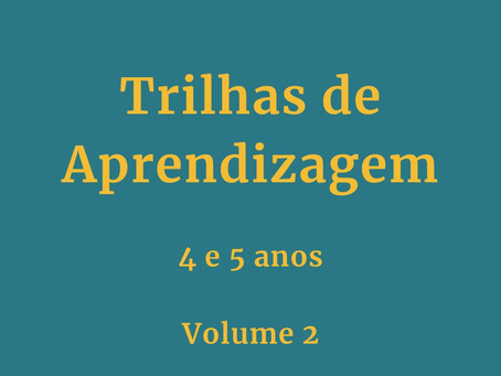 Trilhas de Aprendizagem Volume 2