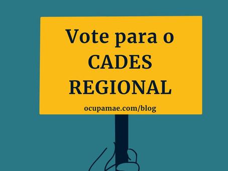 Eleição do CADES Regional